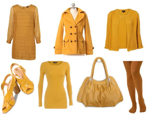 Mustard Colored Clothing Accessories