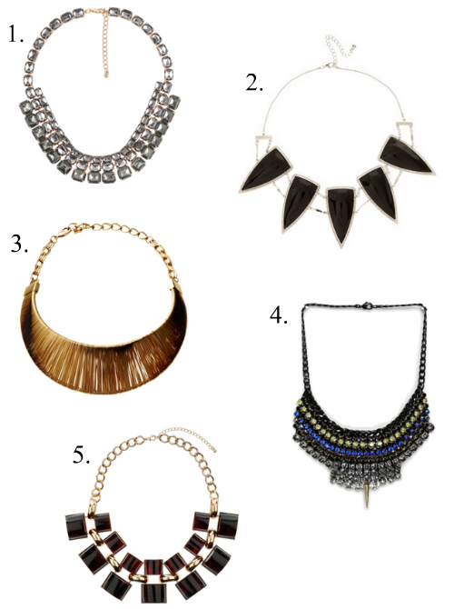 budget friendly statement necklaces